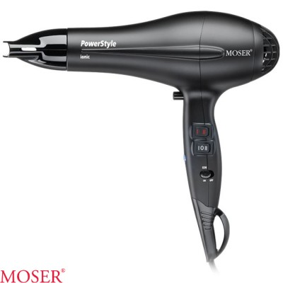 Moser PowerStyle Ionic Black