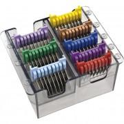 Набор стальных насадок для машинки Moser 1230 и 1400 от 3 до 25 мм